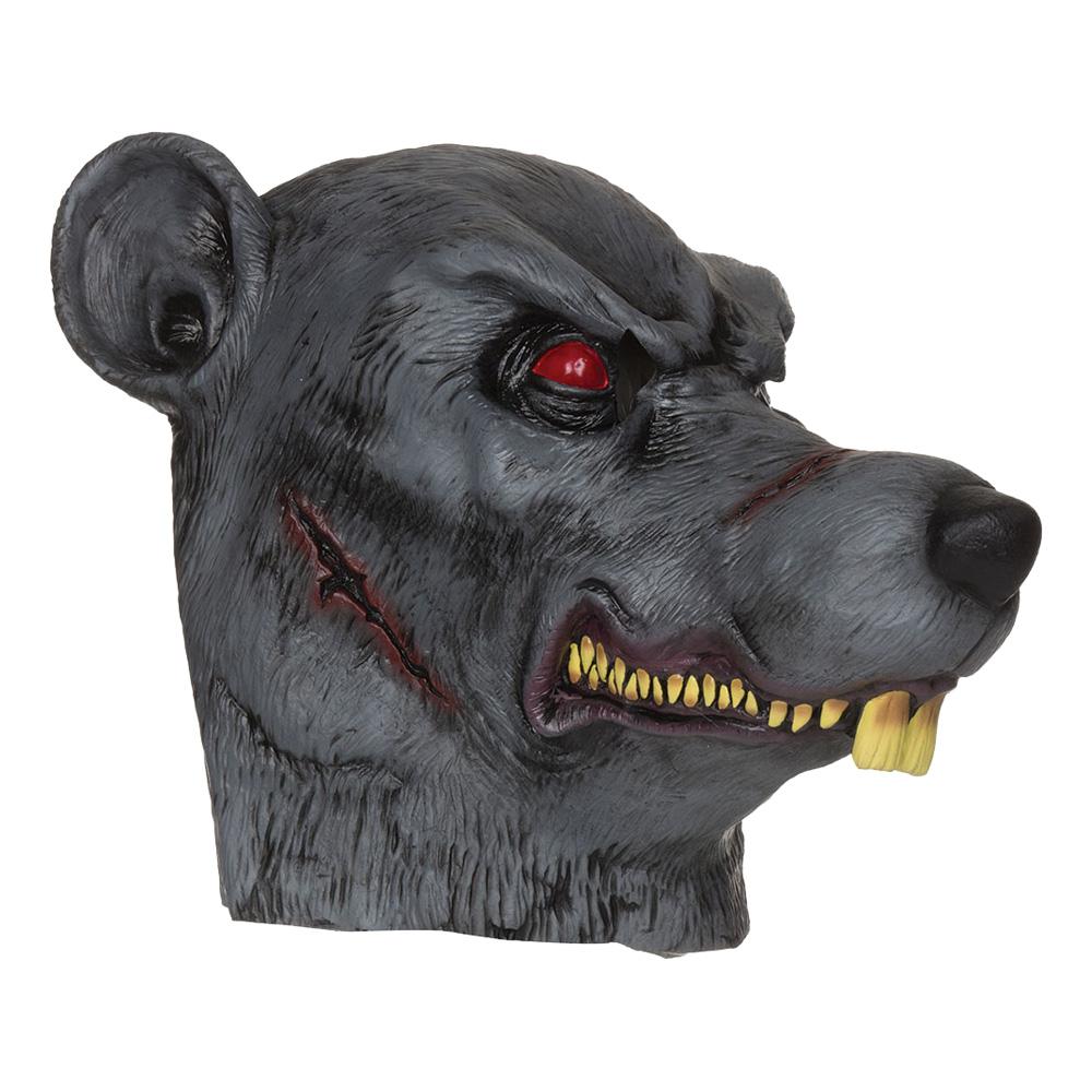 Zombie Råttapa Mask - One size