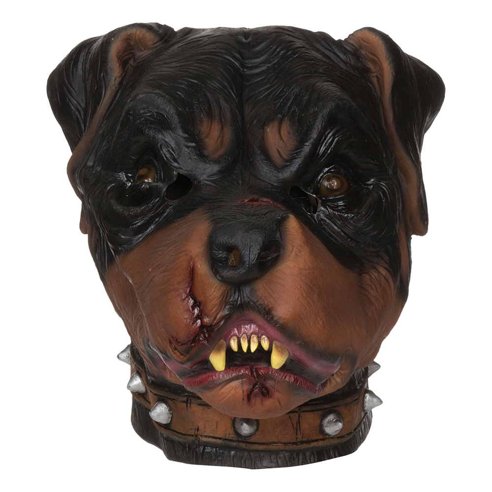 Zombie Rottweiler Mask - One size