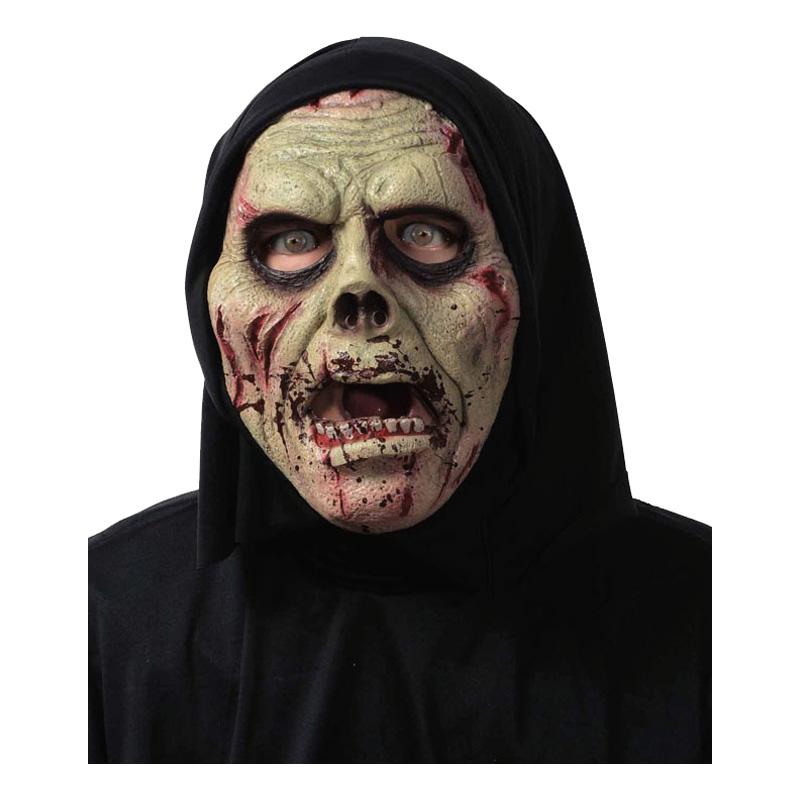 Fleximask Zombie med Huva - One size