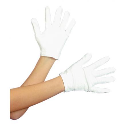 Vita Handskar Korta