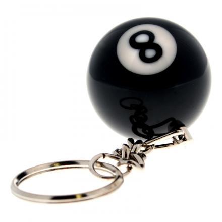 Nyckelring 8-ball