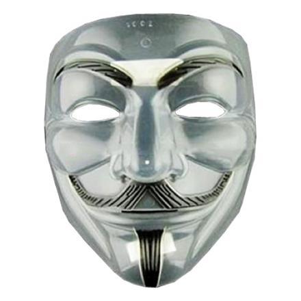 V For Vendetta Transparent Mask