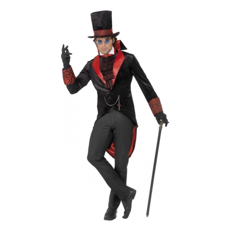 Dracula Halloween Maskeraddräkt