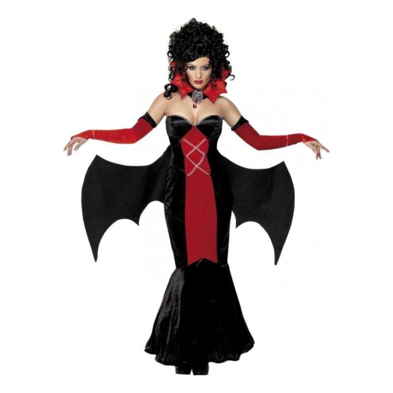 Gotisk Vampyra Maskeraddräkt