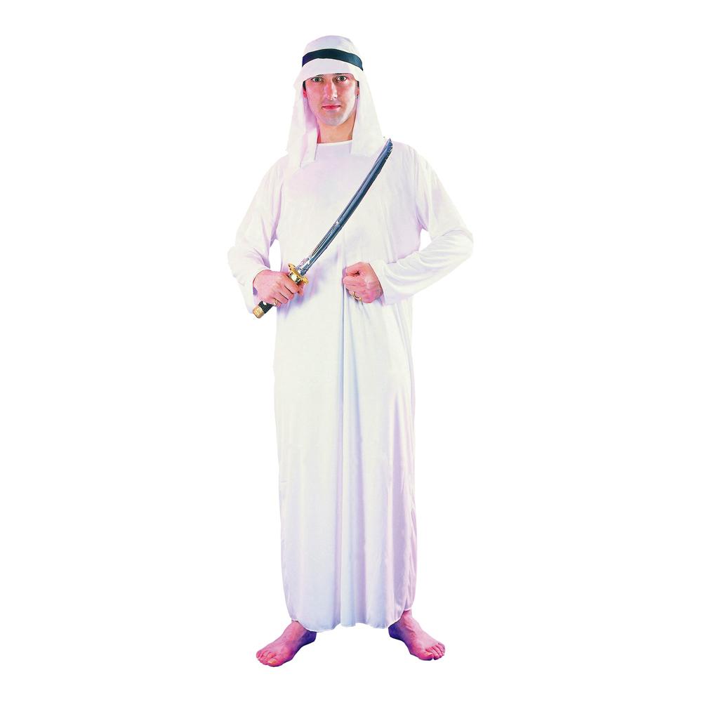 Arab Shejk Maskeraddräkt