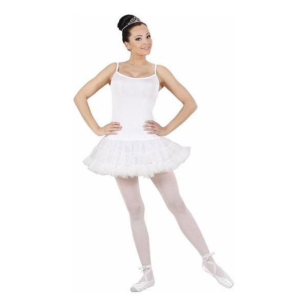 Ballerina Vit Maskeraddräkt