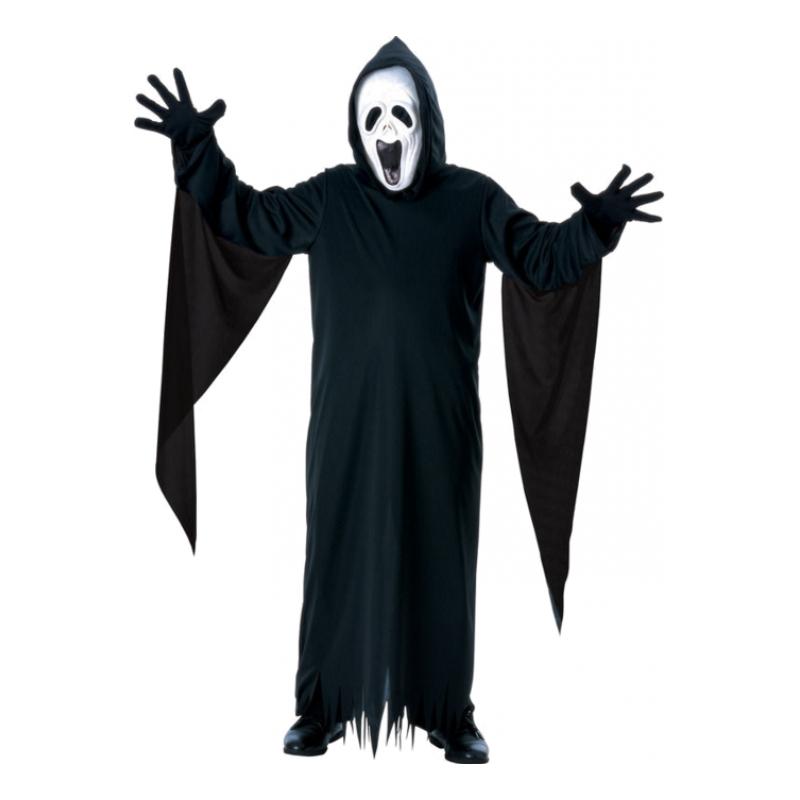 Skrikande Spöke Barn Maskeraddräkt
