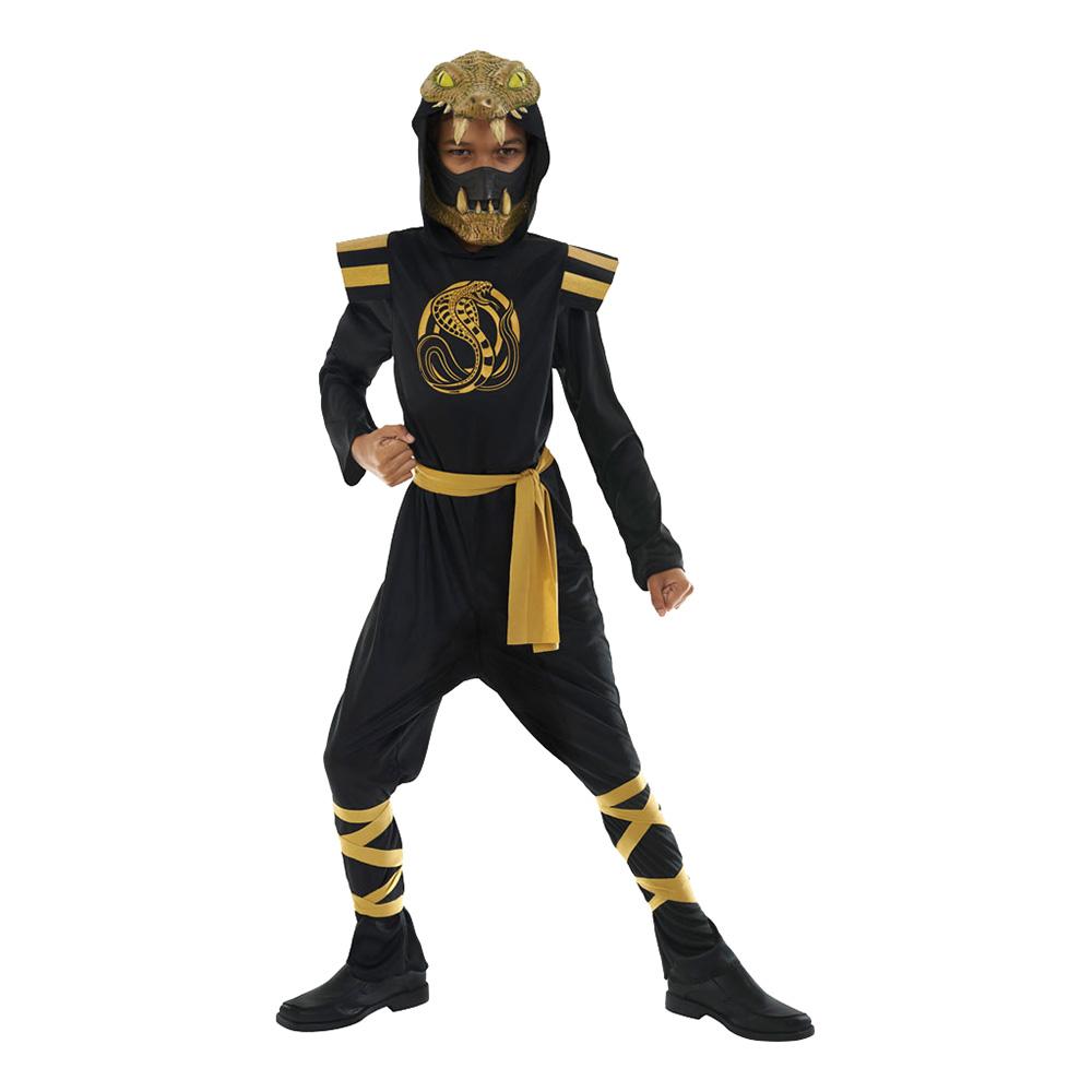 Cobra Ninja Barn Maskeraddräkt