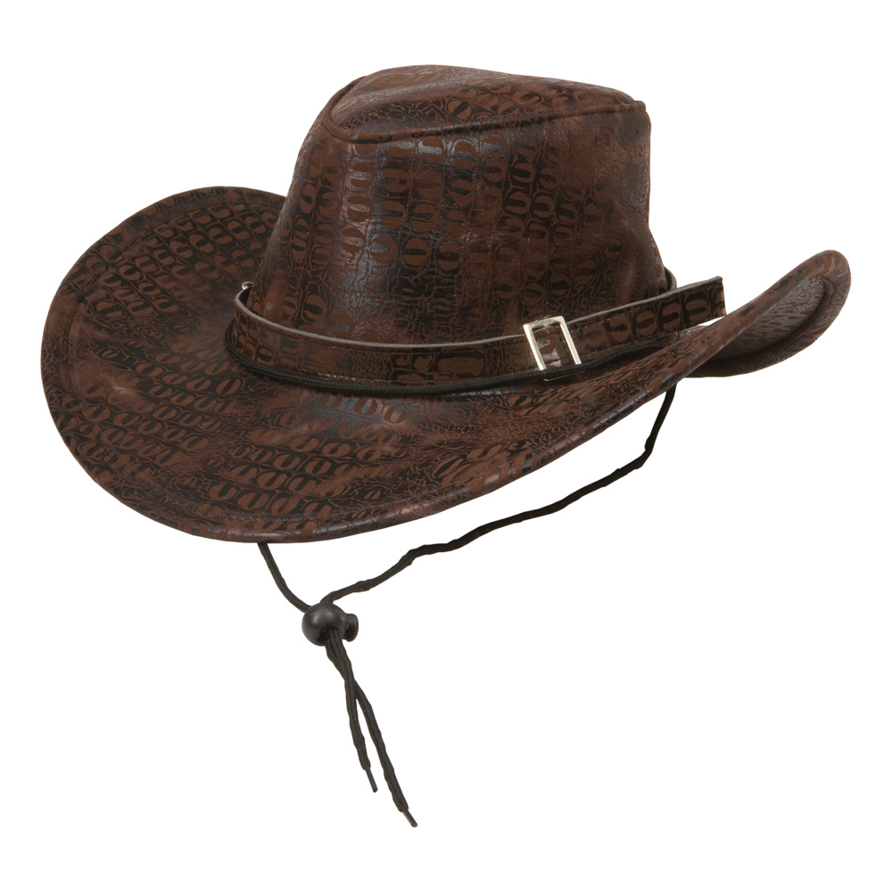 Cowboyhatt Brun
