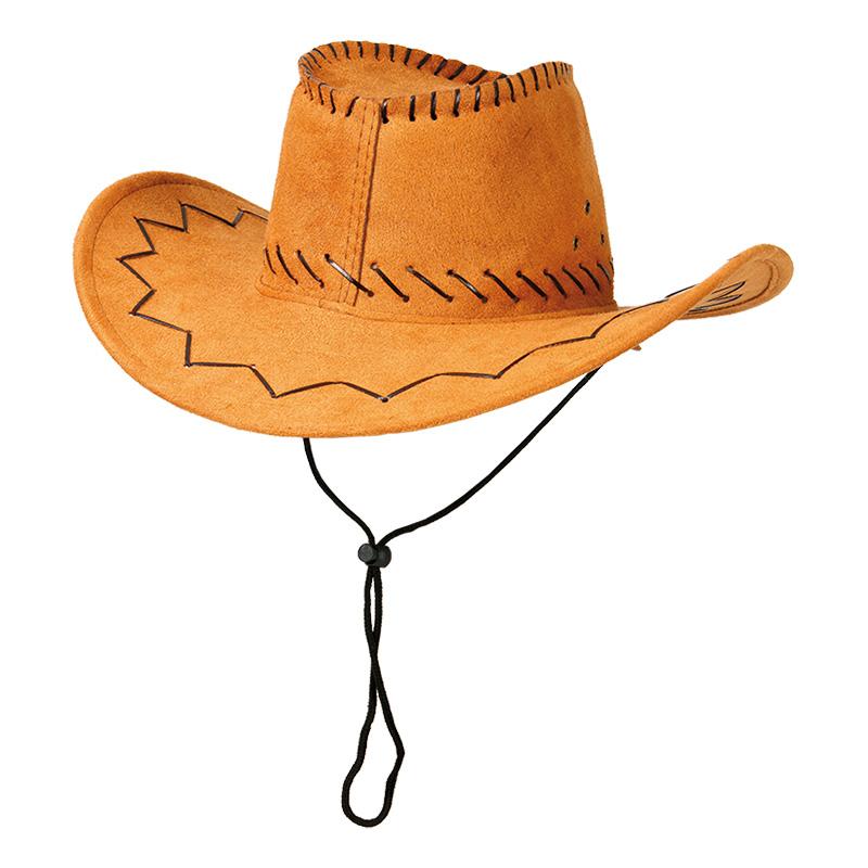 Cowboyhatt med Sicksack-stygn