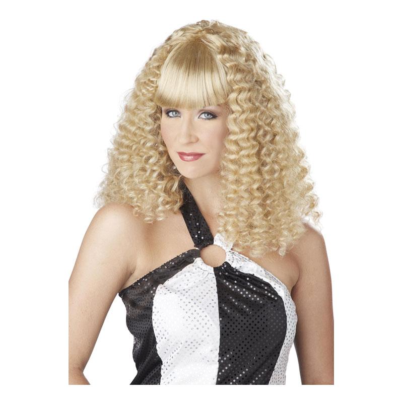 Discodam Blond Peruk