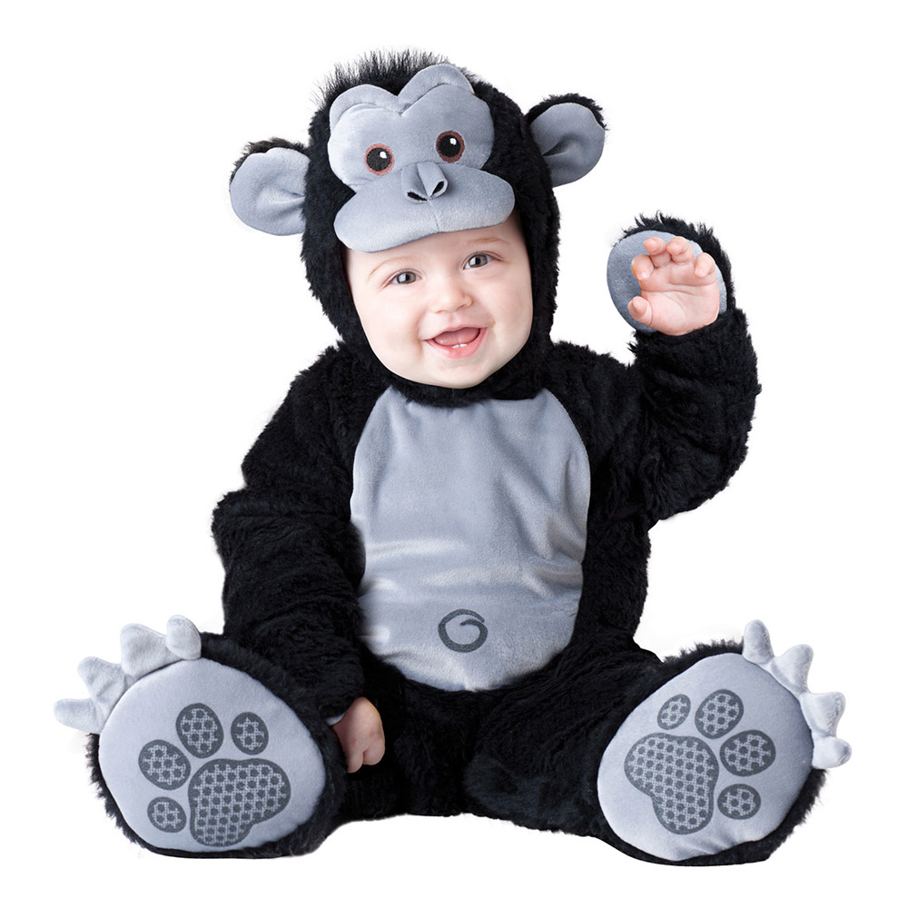 Gorilla Bebis Maskeraddräkt