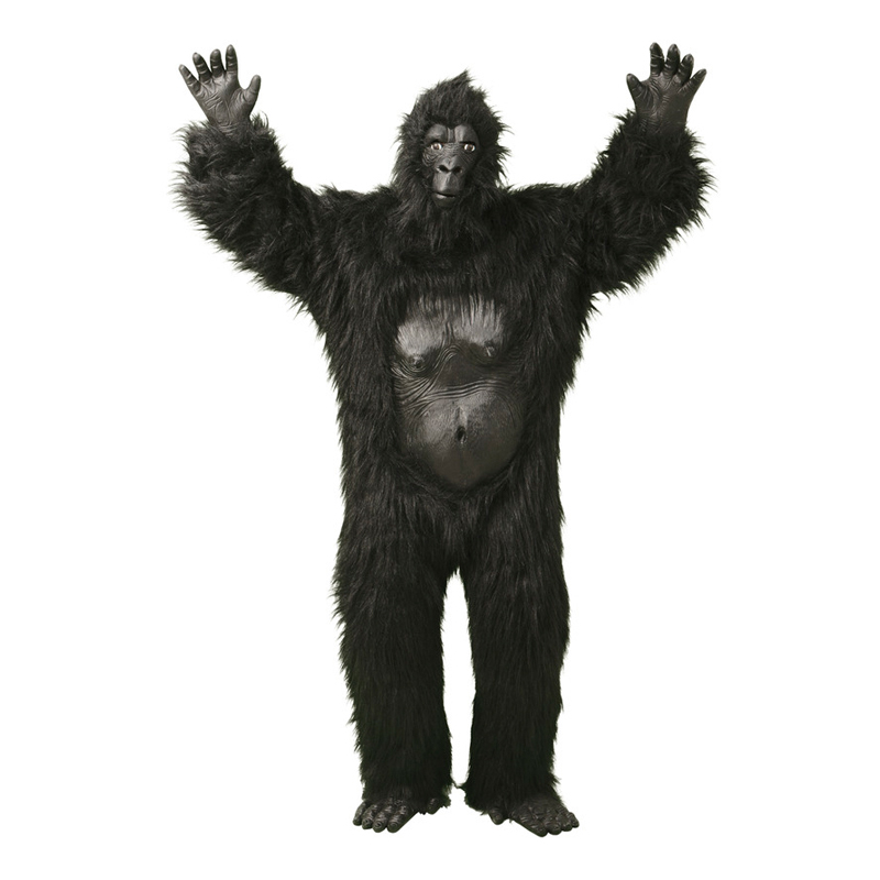 Gorilla Deluxe Maskeraddräkt