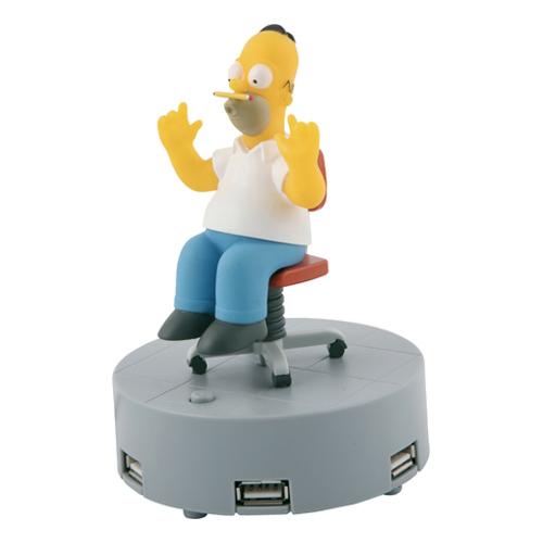 Homer simpson usb hubb - Homer simpson nu ...