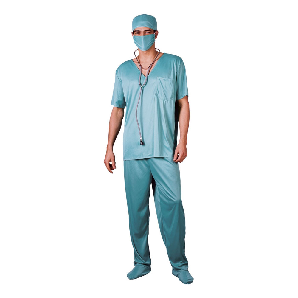 Kirurg Budget Maskeraddräkt