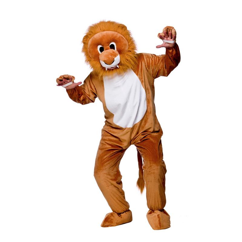 Lejonmaskot Maskeraddräkt