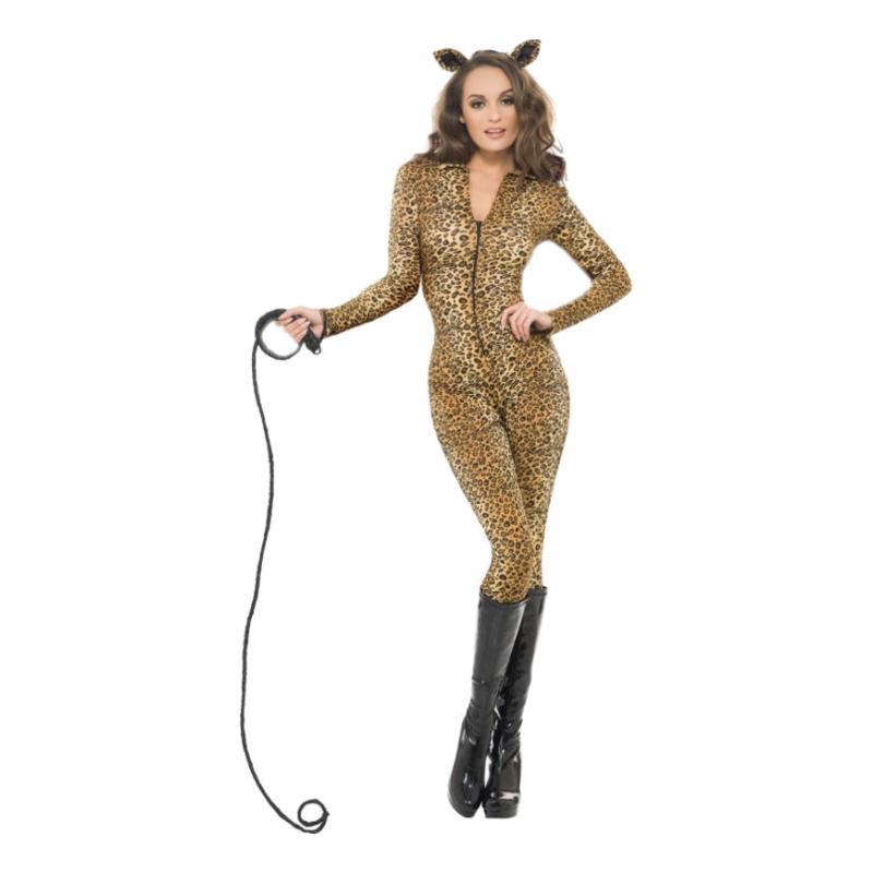 Catsuit Leopard Maskeraddräkt