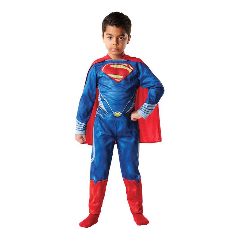 Man of Steel Superman Barn Maskeraddräkt
