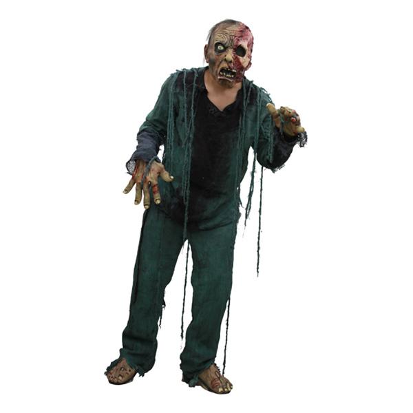 Nattvandrande Zombie Maskeraddräkt