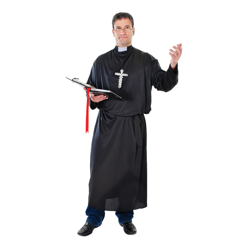 Präst Budget Maskeraddräkt