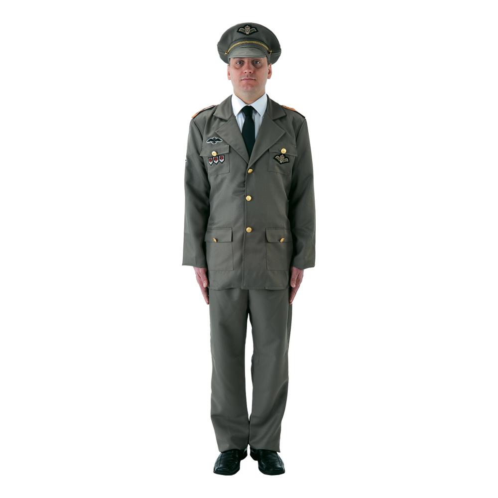 Rysk Officer Maskeraddräkt
