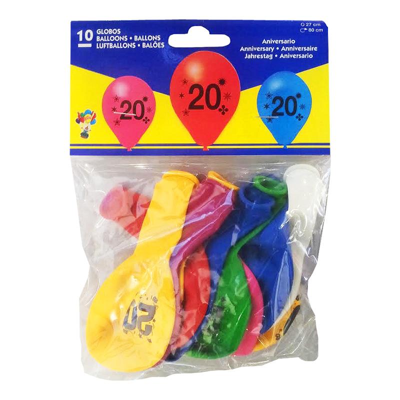 Sifferballong Latex 20