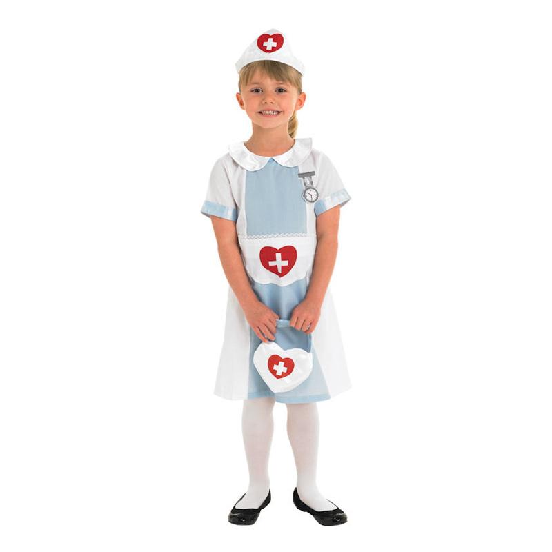 Sjuksköterska Barn Maskeraddräkt