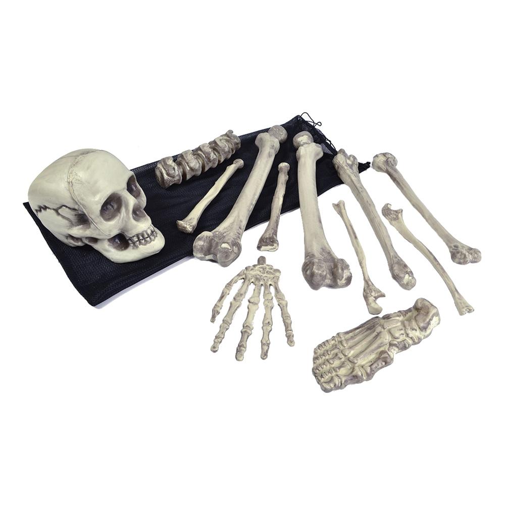 Skelettben i Påse