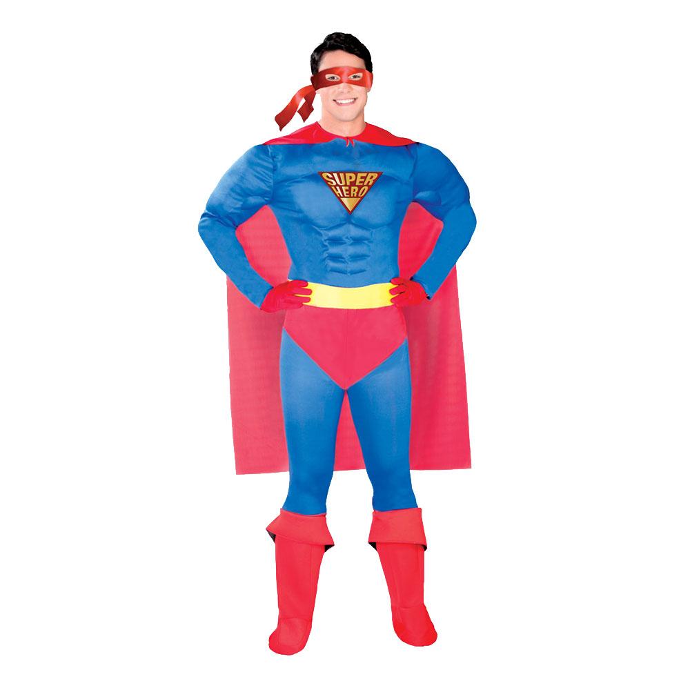Superhjälte Maskeraddräkt