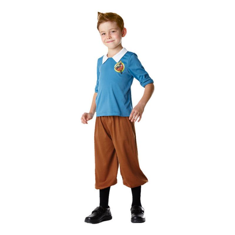 Tintin Barn Maskeraddräkt