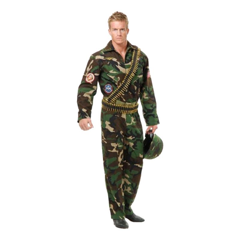 Top Gun Soldat Maskeraddräkt