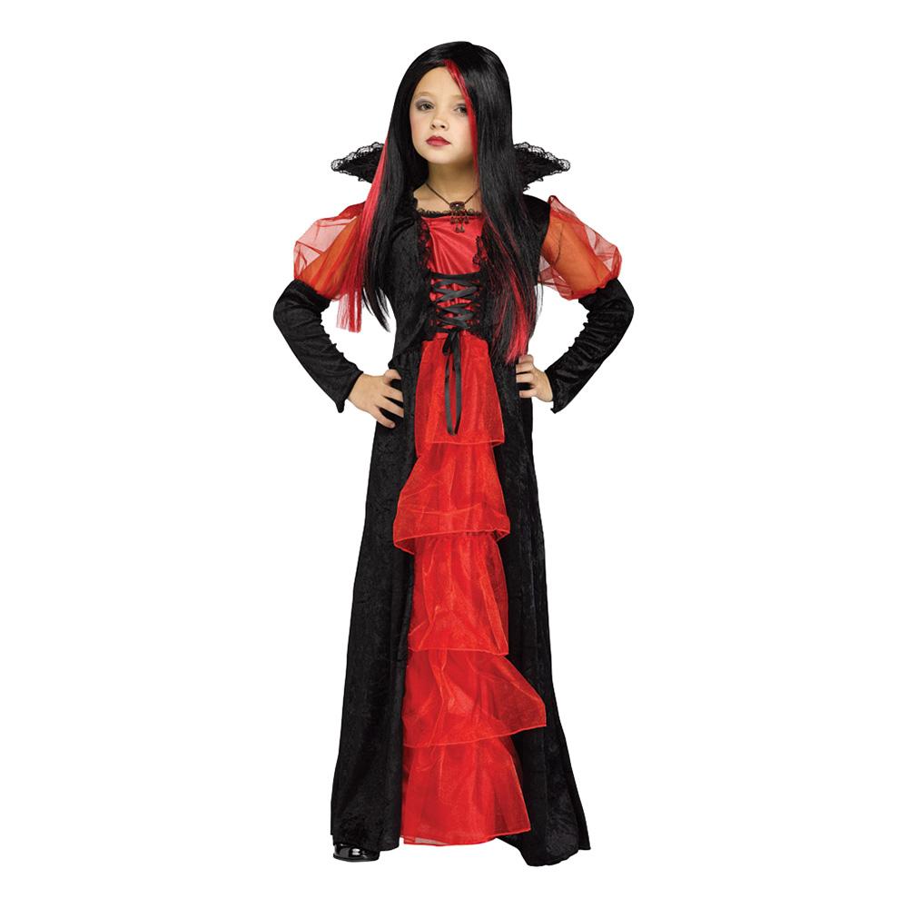 Vampyrklänning Barn Maskeraddräkt