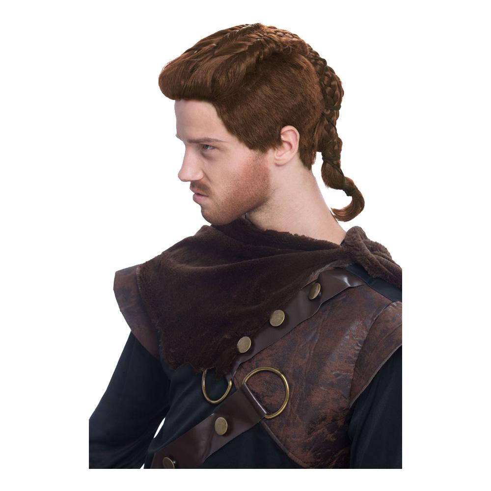 Viking Peruk Brun