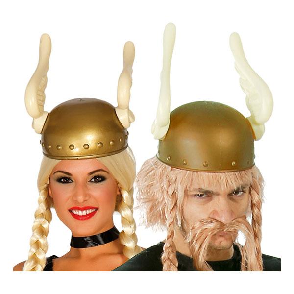 Vikingahjälm med Vingar