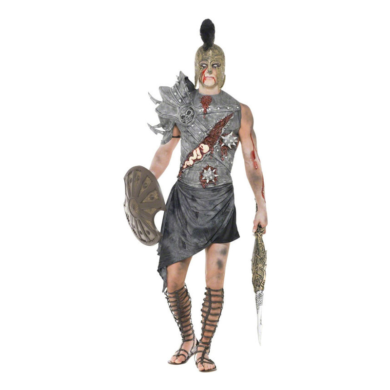 Zombie Gladiator Maskeraddräkt